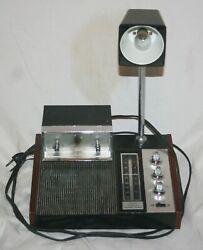VINTAGE LONGINES SIMPHONETTE SLUMBER CENTER WITTNAUR ALARM CLOCK RADIO/LAMP