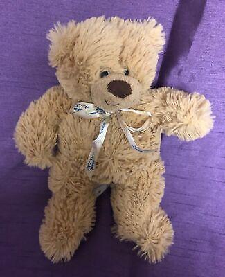 "TEMPUR-PEDIC Teddy Bear 8"" Tan Memory Foam Mattress Plush Sm"