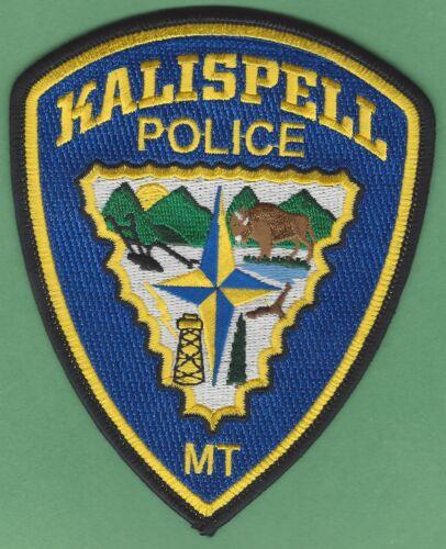 KALISPELL MONTANA POLICE SHOULDER PATCH