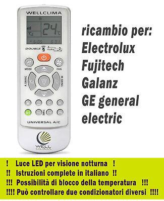 Telecomando per condizionatore Electrolux climatizzatore aria condizionata
