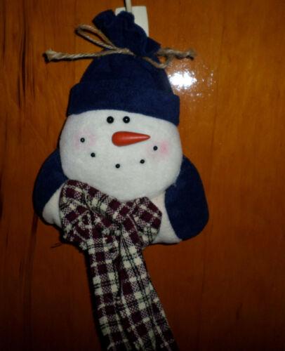 New Snowman  Decoration -  Christmas - Winter - NWOT