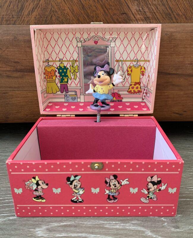 Vintage Minnie n Me Disney 80's Jewelry Music Box
