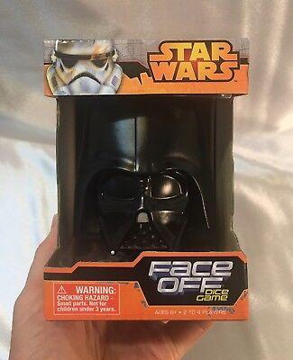 Star Wars Face Off Dice Game Darth Vader vs. Luke Skywalker by Wonder Forge