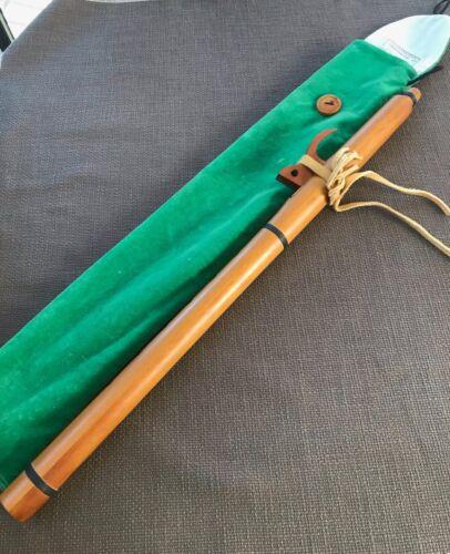 Amon Olorin Ken Light Sonoran Gm Native American Flute with case VGUC