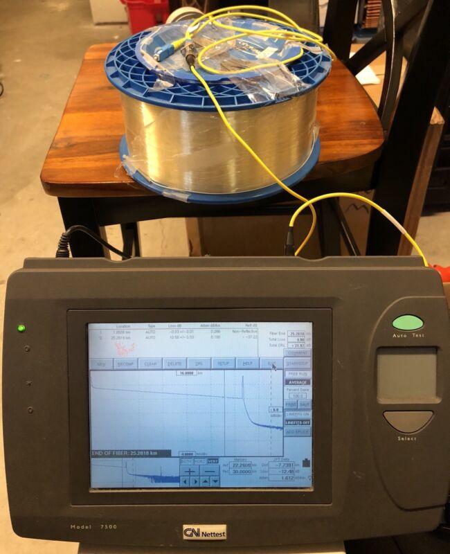 GN nettest Model 7500 OTDR 1310/1550nm