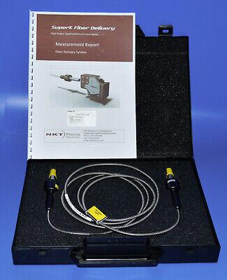 Nkt Photonics Superk Fd5 Fiber Delivery Supercontinuum Laser Collimator Non-pm