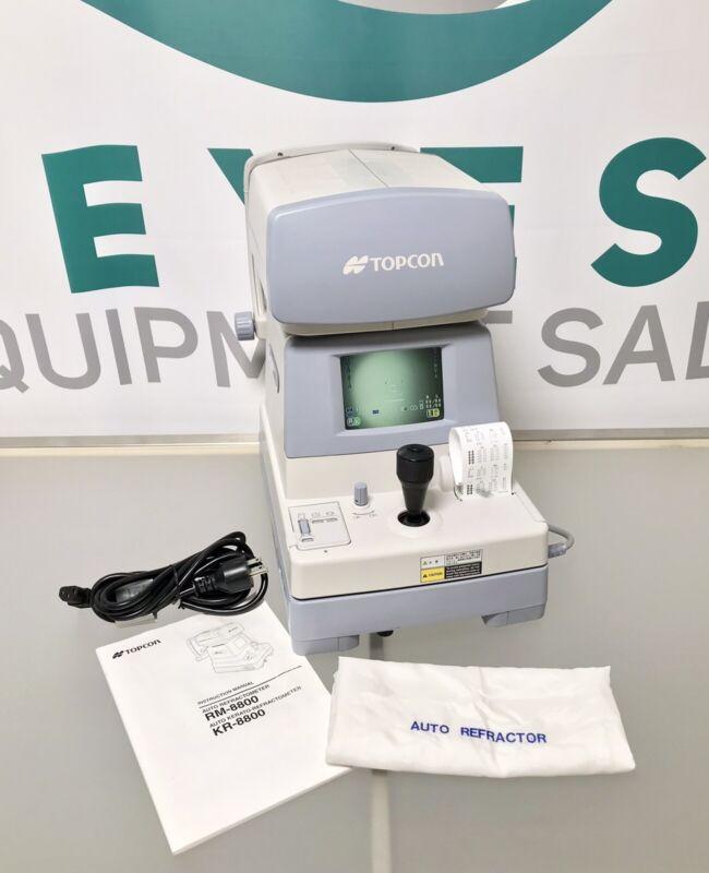 Topcon KR 8800 Autorefractor/ keratometer