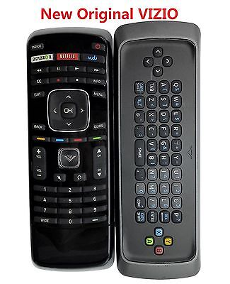 New XRT300 Qwerty Keyboard with Vudu Remote Control for VIZIO LCD LED Smart TV
