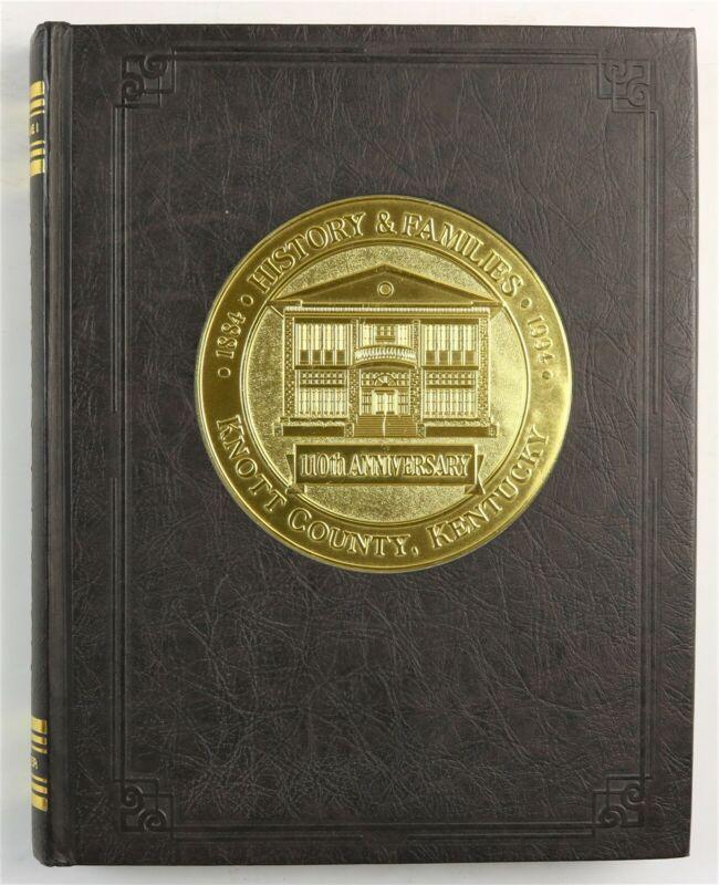 Knott County, Kentucky Hindman Vicco Pippa Passes KY 1995 Family History Book