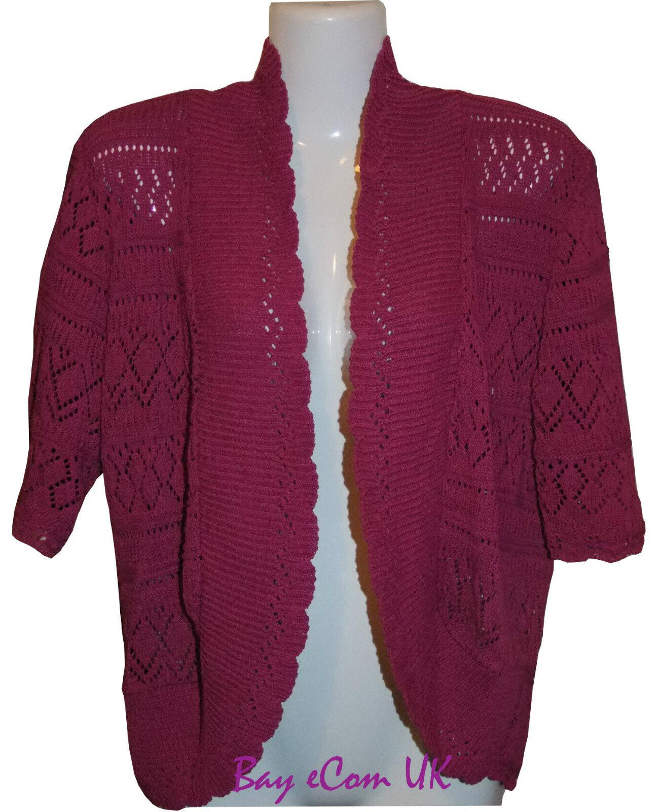 White Shrug Sweater Plus Size 70
