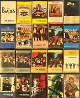60 Vintage Audio Cassettes Rock, Beatles