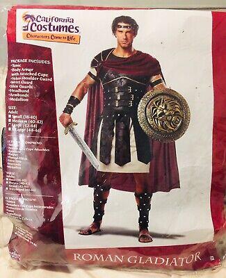 Gladiator Costumes Men (California Costumes Men's Roman Gladiator Julius Caesar Warrior Adult L)