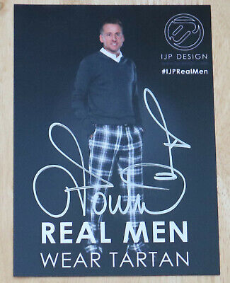 IAN POULTER GOLF PERSONALLY HAND SIGNED AUTOGRAPH PROMO PHOTO , used for sale  Shipping to United States