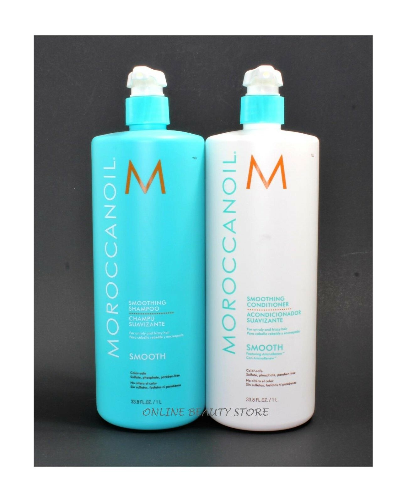 Moroccanoil Smoothing Shampoo And Conditioner 33.8 Fl oz / 1