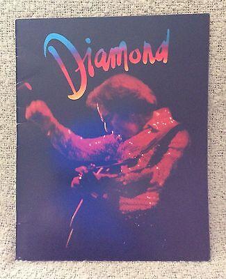 "1981 Neil Diamond ""On The Way To The Sky"" Concert Tour Program Souvenir"