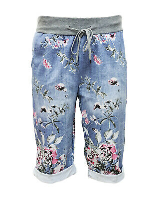kurze Hosen - SHORTS DAMEN - kurze JogPants - Sommerhose - Bermuda - Gr. 36-44 - Damen Kurze Hose