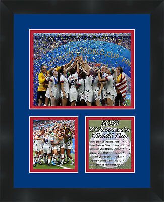 USA Womens 2019 World Cup Championship Photo 11X14 Memorabilia Frames By Mail