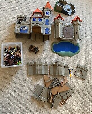Playmobil knights castle with extra Dungeon