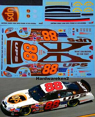NASCAR DECAL #88 UPS 2005 FORD TAURUS DALE JARRETT - JWTBM