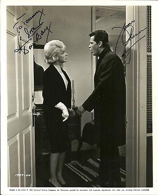 Doris Day   James Garner Autographed 8X10 Rp Photo
