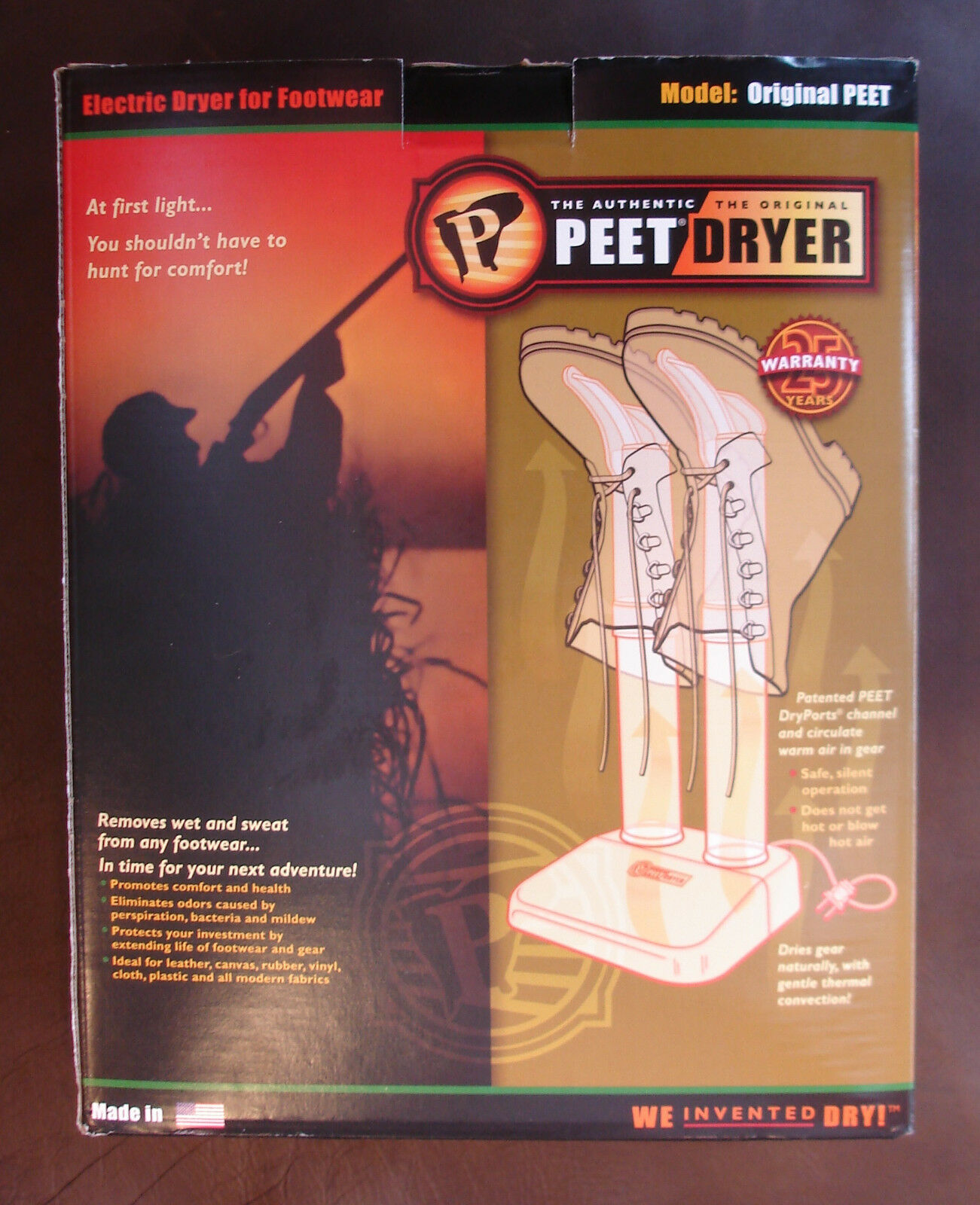 Peet Original Peet Boot Dryer Electric Thermal