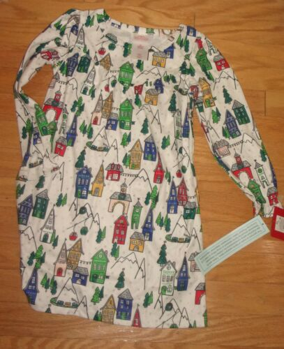 Wondershop Toddler Girls Christmas  ALMONG BEIGE  Nightgown Size 5T - NWT HOUSES