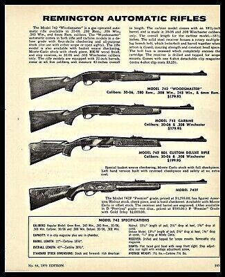 Advertisements - Remington Model 742