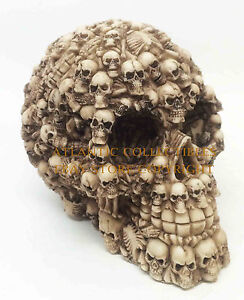 GHOST WHISPER LOST SOULS SKULL SKELETON FIGURINE STATUE SCULPTURE HALLOWEEN