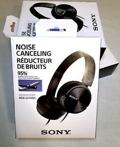 New! Sony Noise Cancelling Heaphones