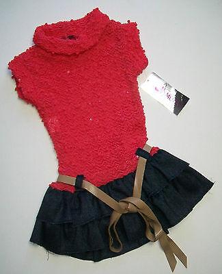 Abbigliamento Bambini.Abito,Vestito in Maglina con Paliettes.Moda Made in Italy