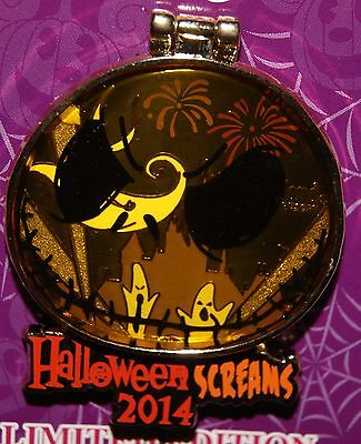 Disney Halloween Screams 2014 NBC JACK stained glass ZERO DLR LE Pin (Disney Halloween Screams)