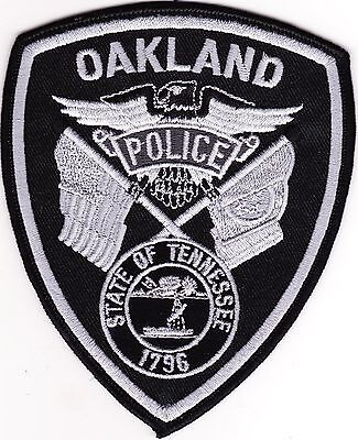 Oakland Police Patch Tennessee TN NEW!!