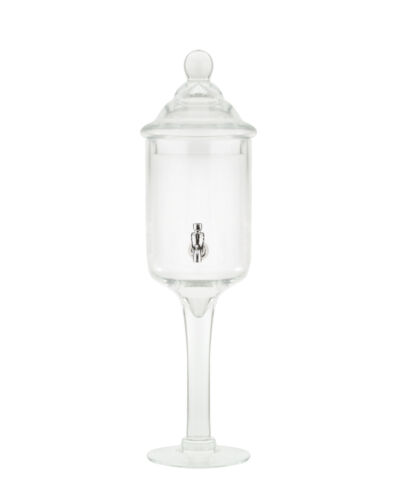 GLASS ABSINTHE WATER FOUNTAIN, 1 SPOUT - ALREADY IN THE U.S. w/ FREE SHIPPING !