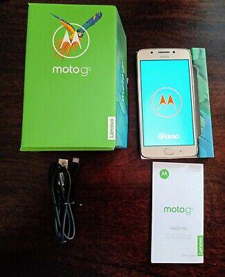 MOTOROLA MOTO G5 16GB Fine Gold Smartphone Mobile Phone