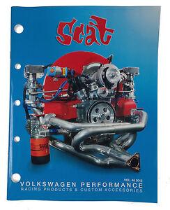 Scat-VW-Beetle-T1-Race-Parts-Catalogue-Collectable-Catalog-Rare-T2-Bus-Van-Book