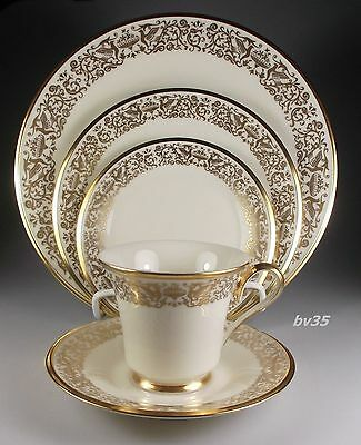LENOX TUSCANY 5 PIECE PLACE SETTINGS - EXCELLENT!