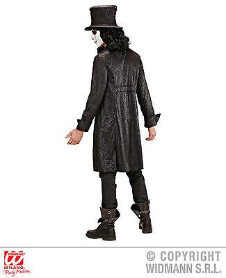 The Raven 2-tlg. Rabe Kostüm Jacket und Hut Komplett Fasching Halloween Karneval