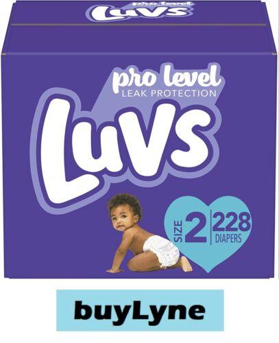 Luvs Triple Leakguards Diapers - Size 2 (228ct) **buyLyne**