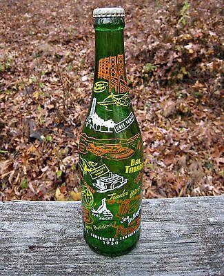 A.B.C.B. Bottle 1950 Convention San Francisco NSDA InterBev Pepsi Coca Cola RARE
