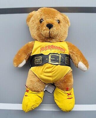 wwf ljn hasbro wrestling superstars hulk hogan wrestling teddy bear figure