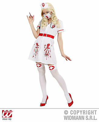 Widmann S.r.l. Blutige Krankenschwester Zombie Untot Horror sexy - Sexy Blutige Kleid Zombie Kostüm