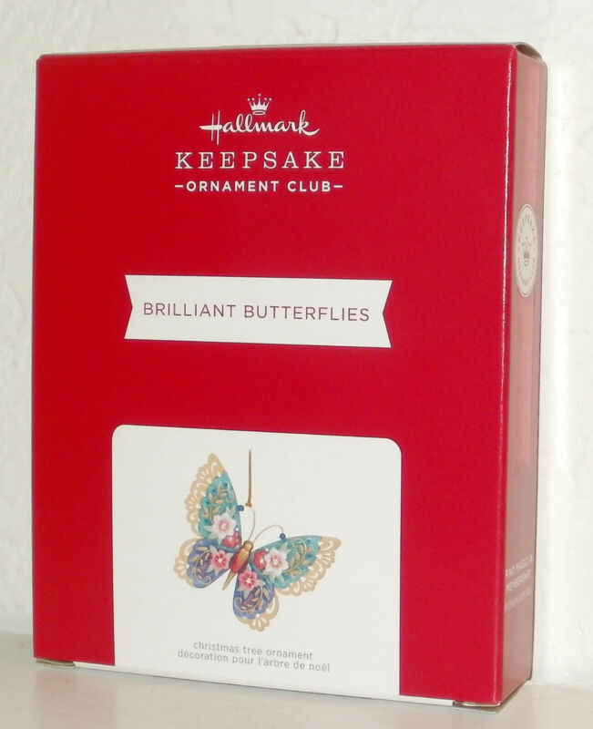 2021 Hallmark Keepsake Ornament KOC Event Exclusive Brilliant Butterflies