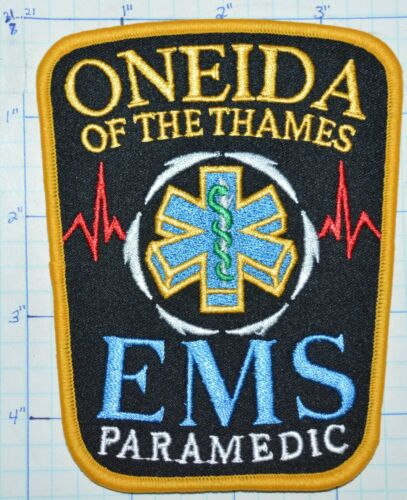 CANADA, ONEIDA ON THE THAMES EMS PARAMEDIC RESCUE EMERGENCY PATCH