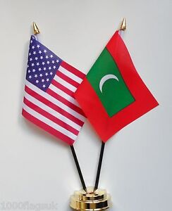 United-States-of-America-Maldives-Double-Friendship-Table-Flag-Set