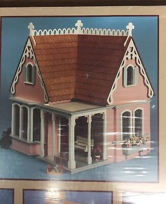 "GREENLEAF ""Coventry Cottage"" WOOD DOLLHOUSE KIT * FURNITURE & SHINGLES INCLUDED! for sale  Airway Heights"