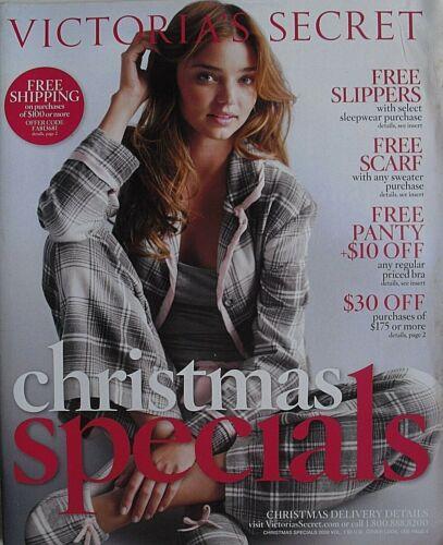 MIRANDA KERR Christmas Specials 2008 VICTORIA