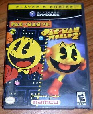 Nintendo GAMECUBE Pac-Man vs./Pac-Man World 2