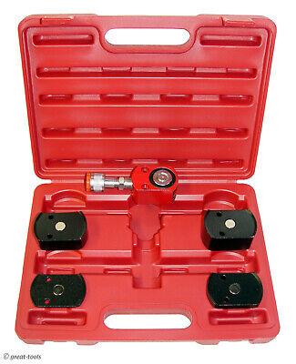 Hydraulic 5-ton Short Ram Kit Stackable Magnetic Base Porta Power Jack Small