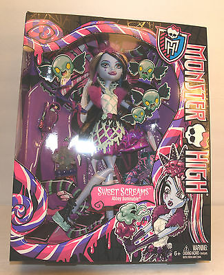 Abbey Bominable Monster High Sweet Screams Doll Set Mattel New Sealed Box - Monster High Sets