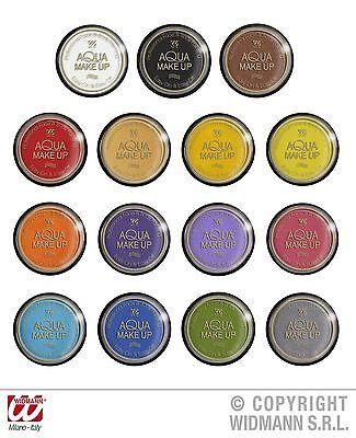 Acqua Aqua Make Up, Trucco, VOLTI, Corpo 15g, Marrone,Rosso,Grigio,Blu